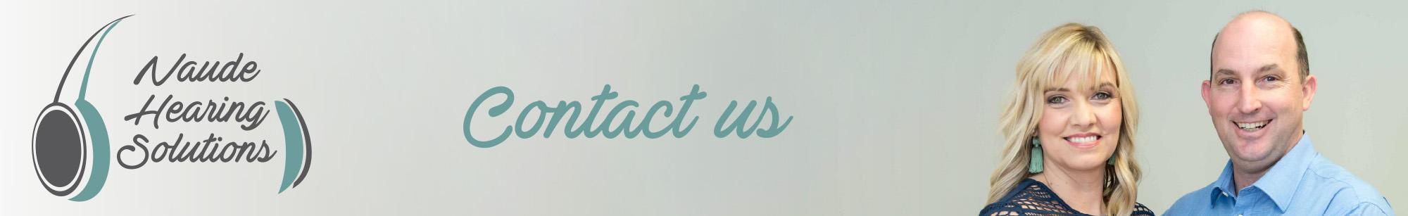 Naude Hearing Solutions - Contact Us